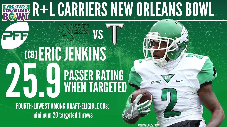 North Texas CB Eric Jenkins