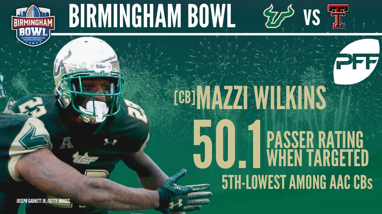 USF CB Mazzi Wilkins