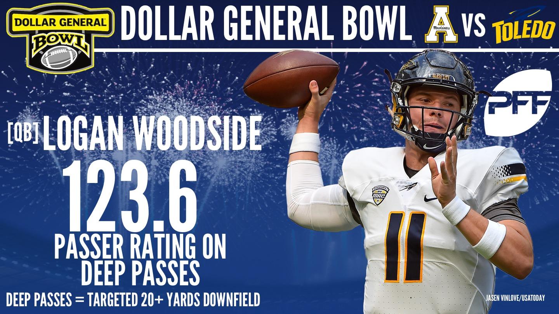 Toledo QB Logan Woodside