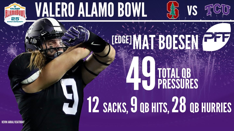 2017 Valero Alamo Bowl - Mat Boesen