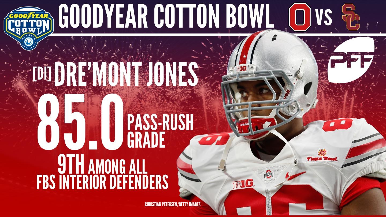 2018 Cotton Bowl Classic - Dre'Mont Jones