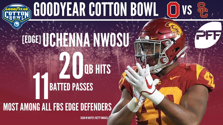 2018 Cotton Bowl Classic - Uchenna Nwosu