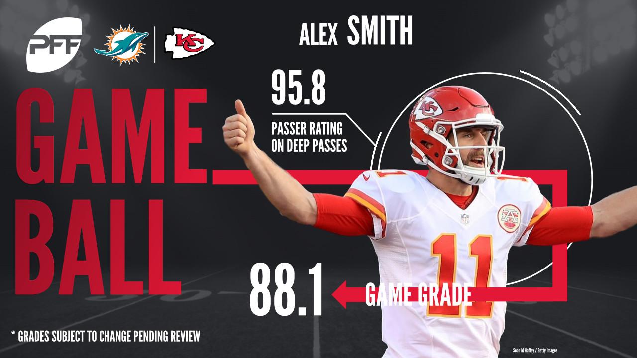 Alex Smith, quarterback, Kansas City Chiefs