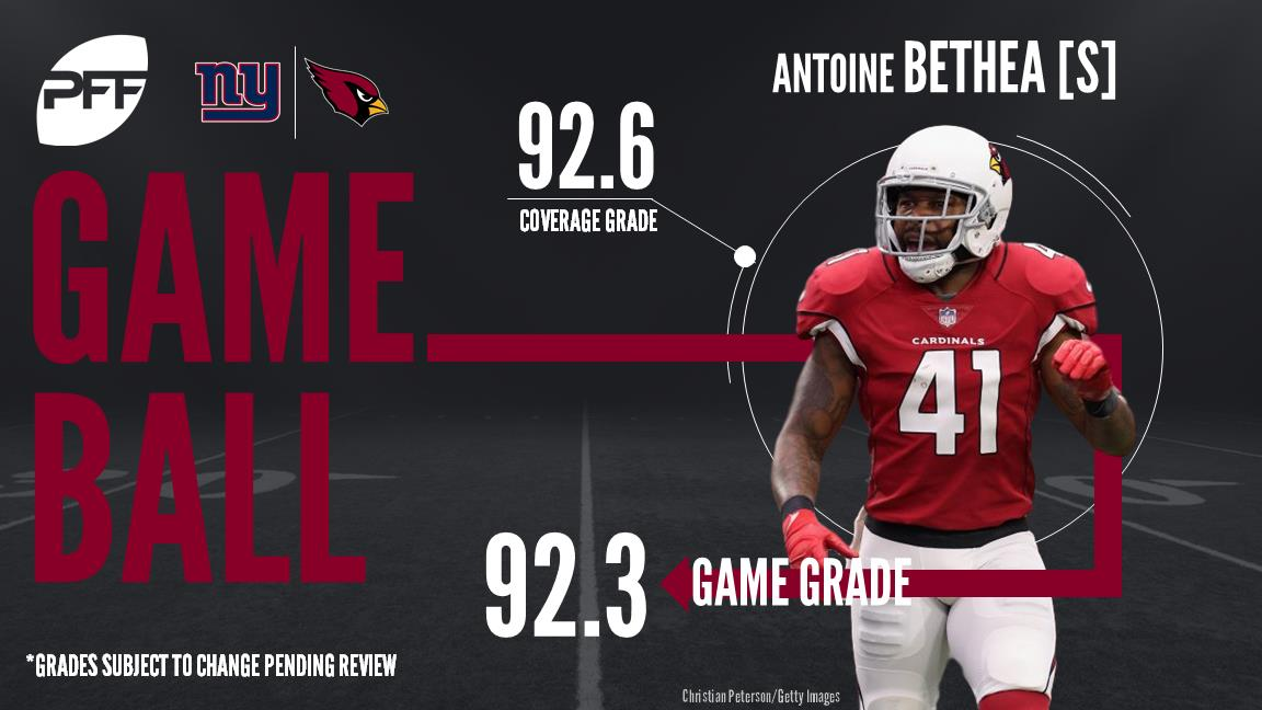 Antoine Bethea, safety, Arizona Cardinals