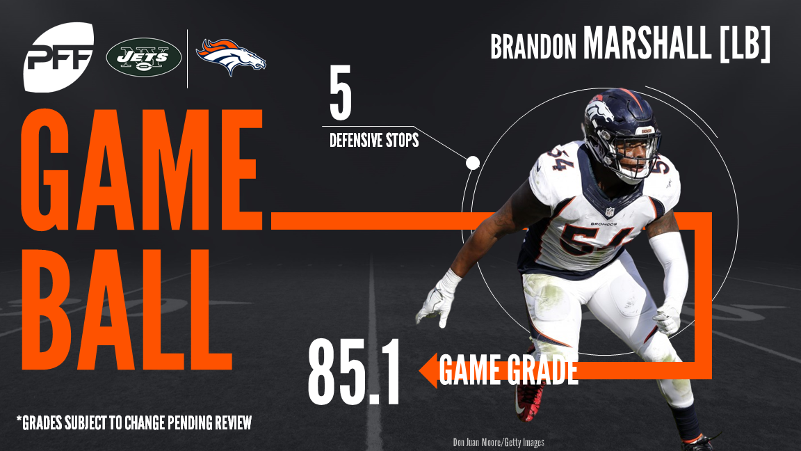 Denver Broncos LB Brandon Marshall