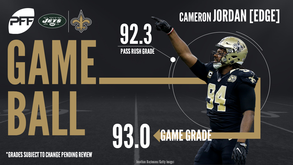 New Orleans Saints edge defender Cameron Jordan