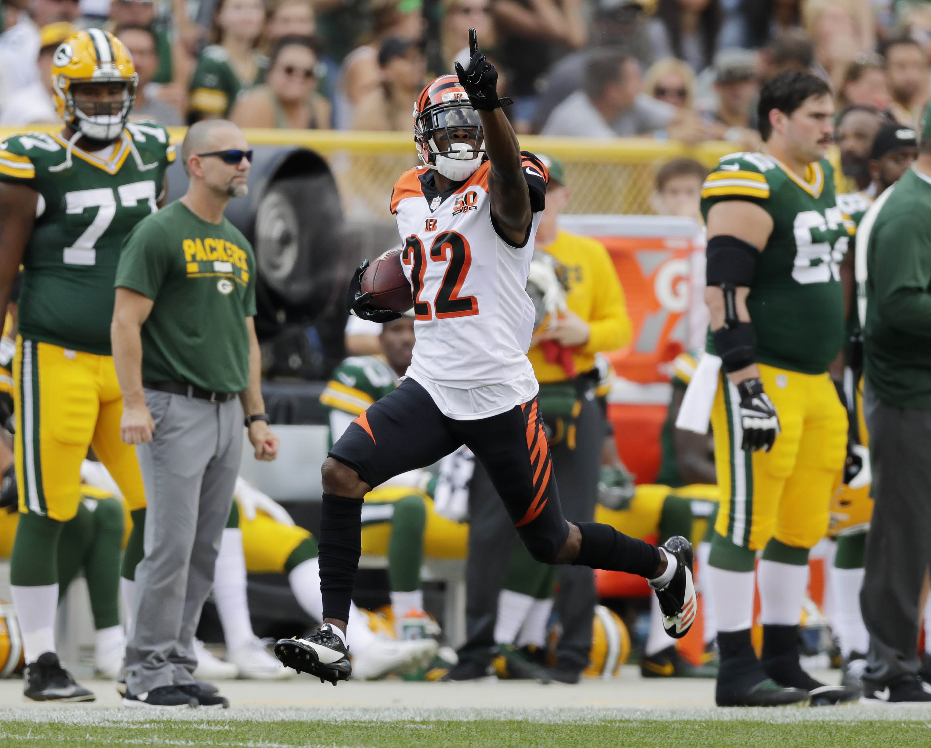 Bengals CB William Jackson has been dominant against top opponents