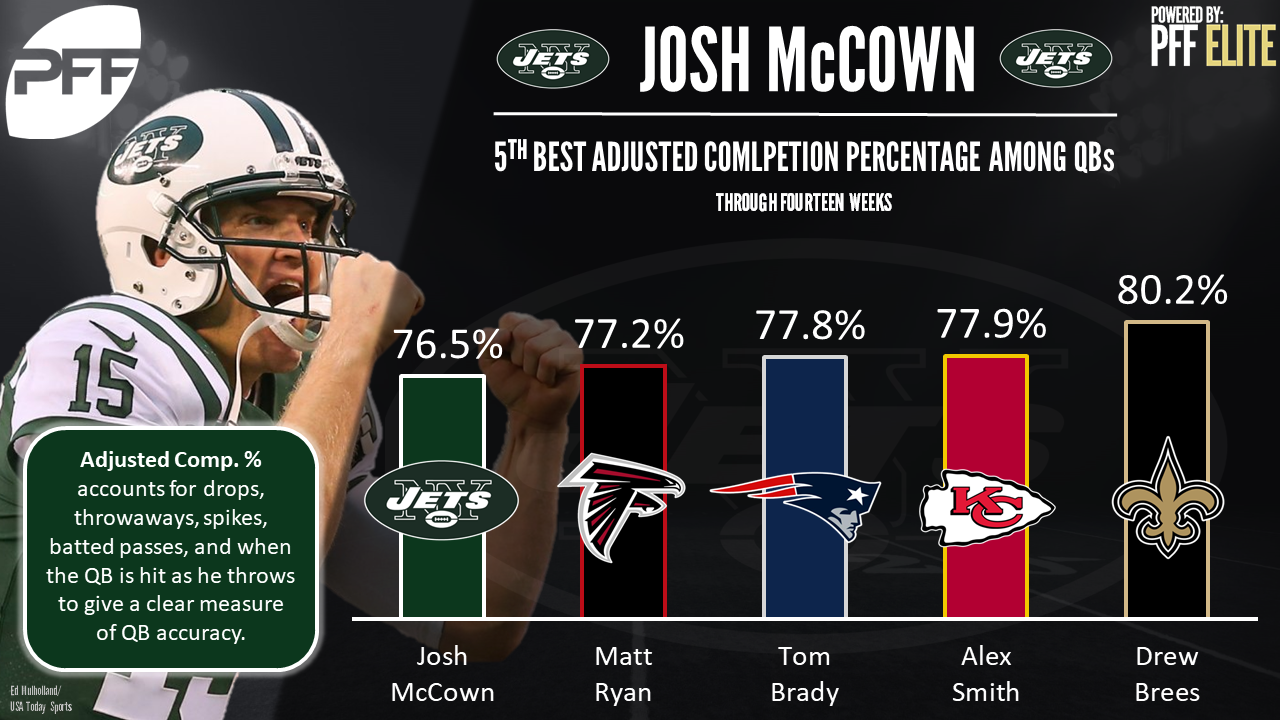 New York Jets QB Josh McCown