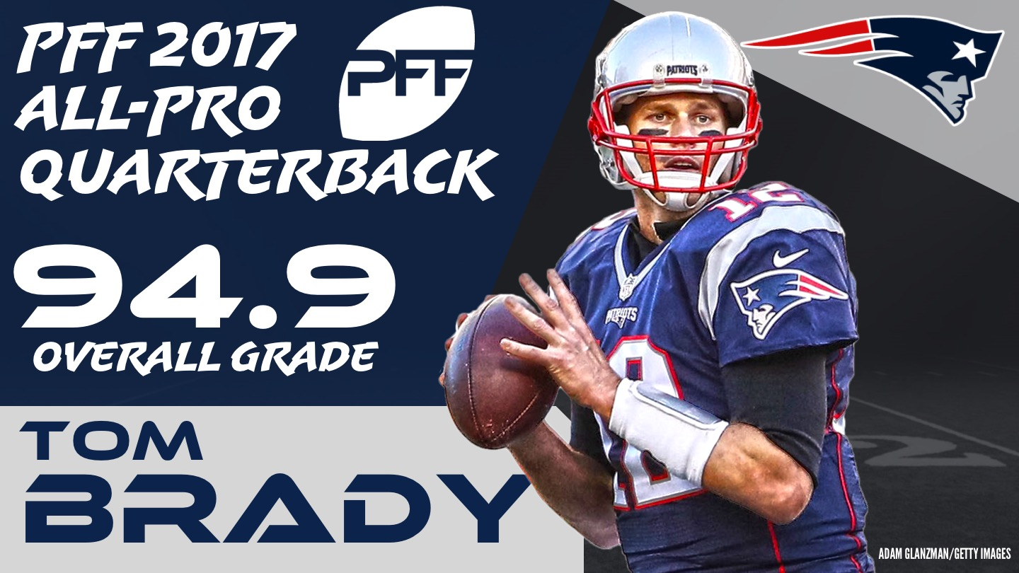 2017 NFL All-Pro - QB Tom Brady