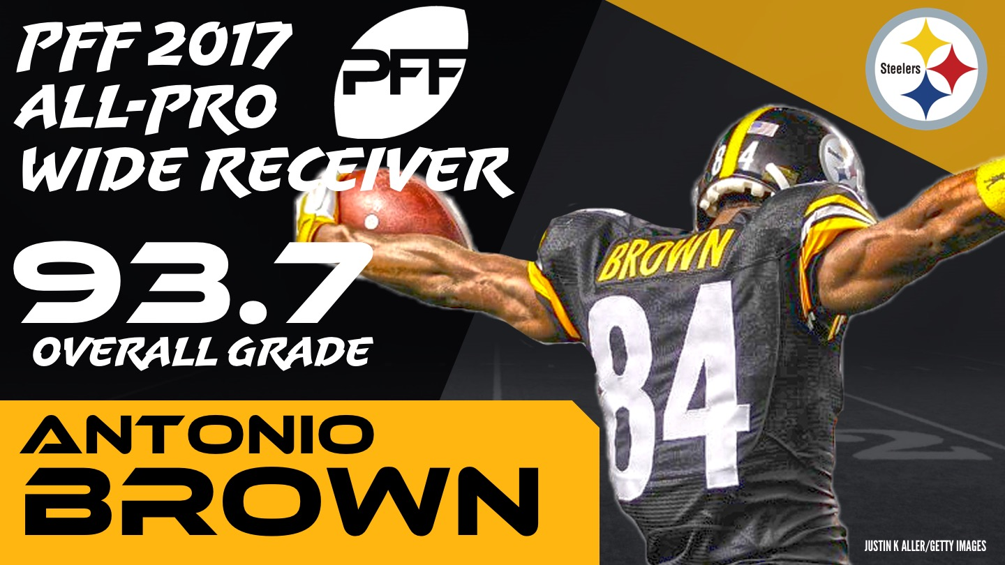 2017 NFL All-Pro - WR Antonio Brown