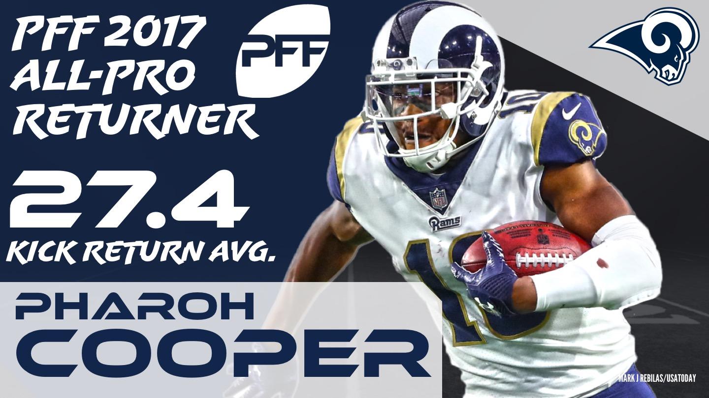 2017 NFL All-Pro - KR Pharoh Cooper
