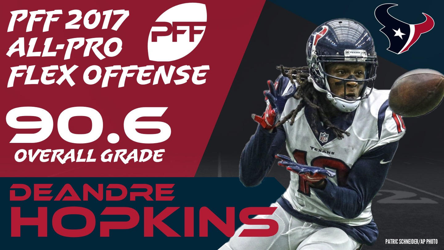 2017 NFL All-Pro - WR DeAndre Hopkins