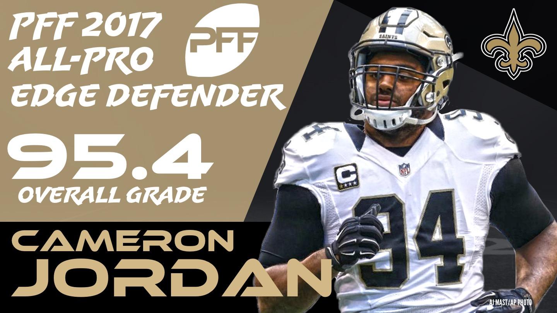 2017 NFL All-Pro - Edge Cameron Jordan
