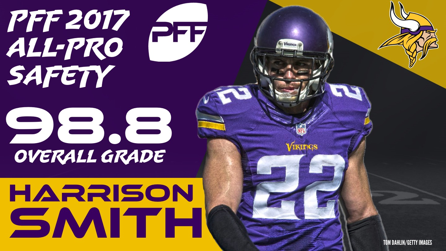 2017 NFL All-Pro - S Harrison Smith