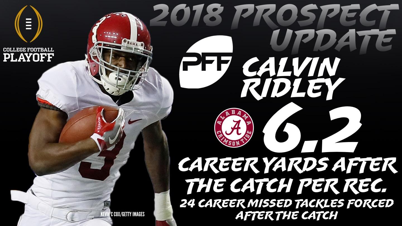 Alabama WR Calvin Ridley