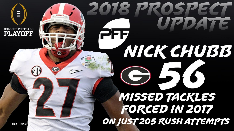 Georgia RB Nick Chubb