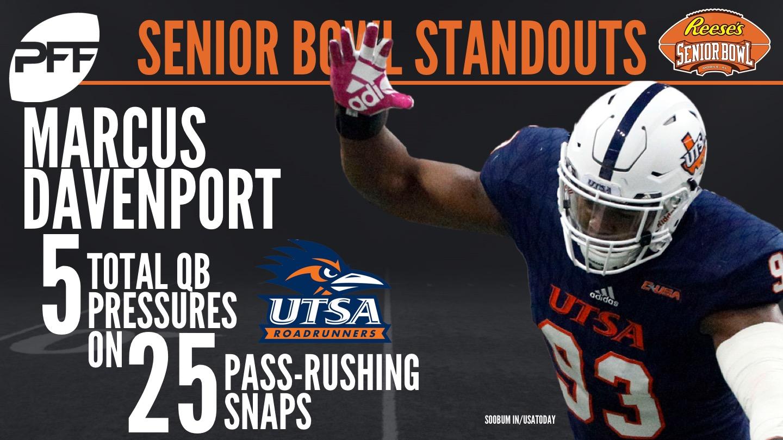 UTSA Edge defender Marcus Davenport