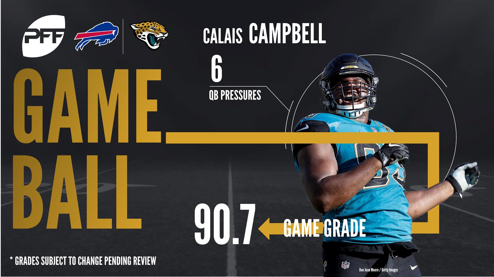 Edge Calais Campbell Jacksonville Jaguars