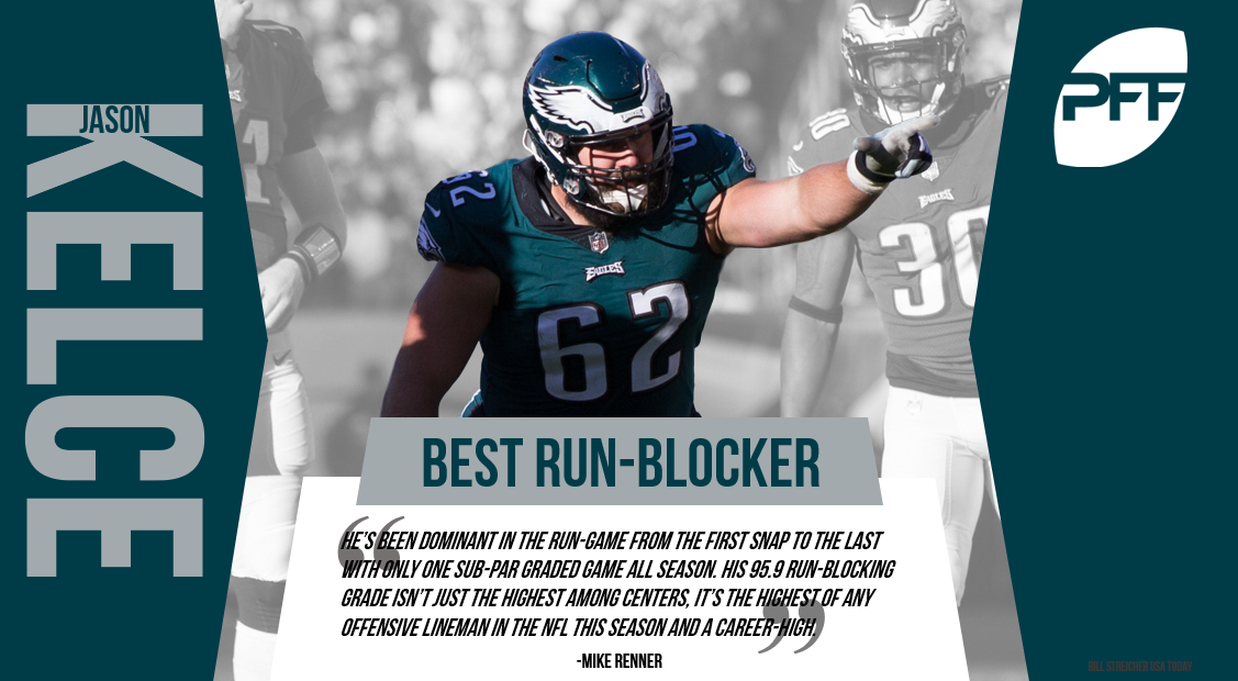 Philadelphia Eagles C Jason Kelce