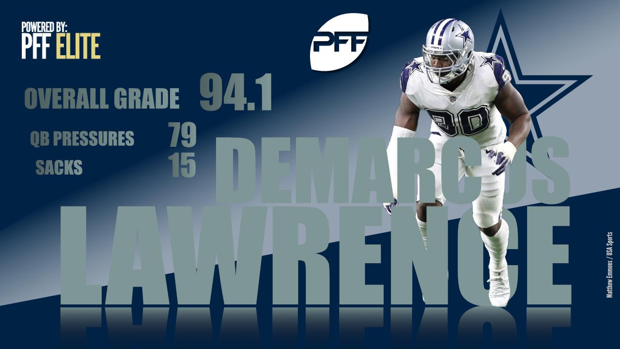 Dallas Cowboys edge defender DeMarcus Lawrence