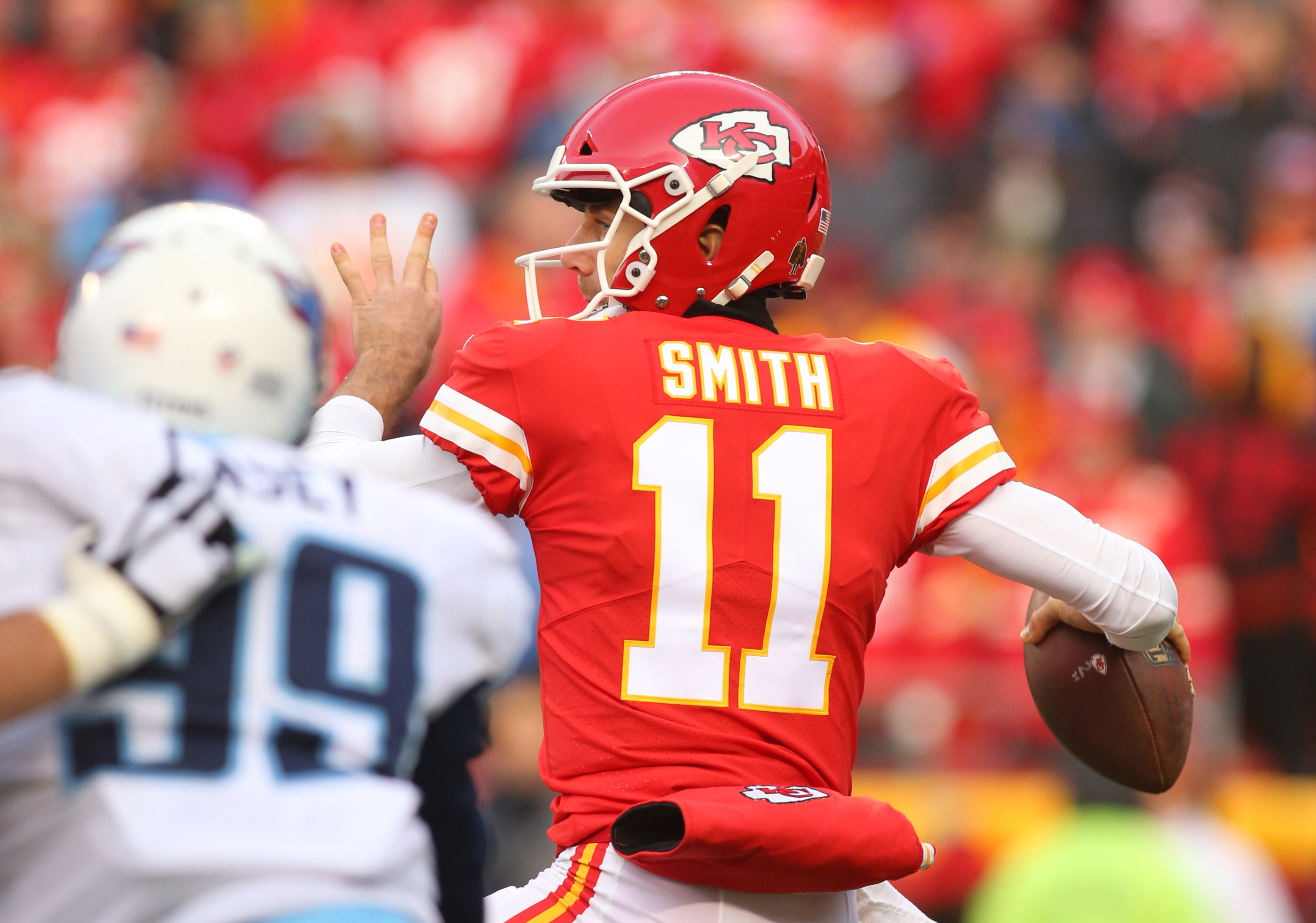 Hot A Fuller roster in Kansas City, Chiefs hit home run with Alex Smith  for cheap