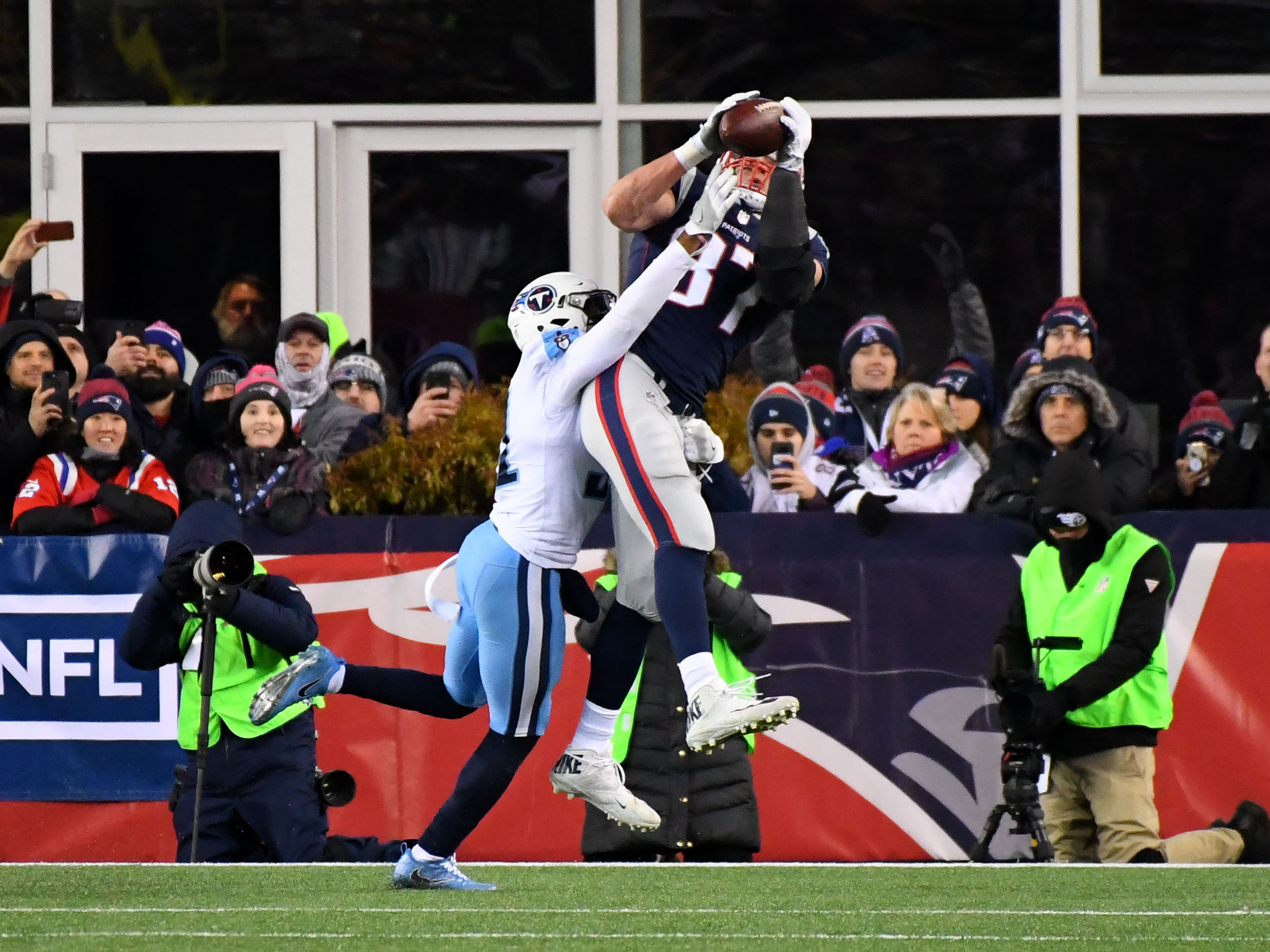 Rob Gronkowski victim of cheap shot by Jaguars? NFL reaction