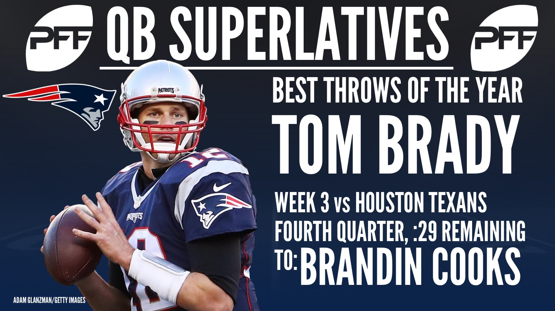 NFL QB Superlatives - Tom Brady