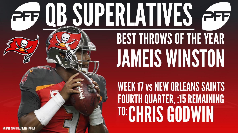 NFL QB Superlatives - Jameis Winston