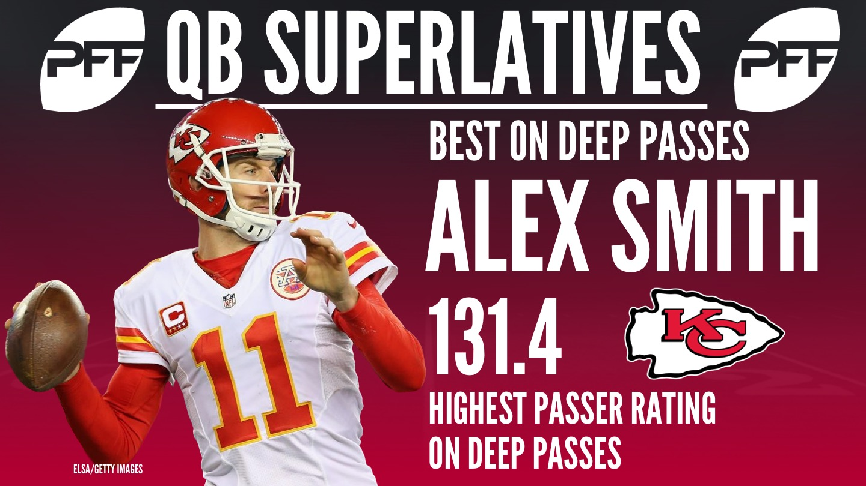 NFL QB Superlatives - Alex Smith