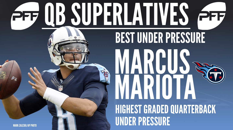 NFL QB Superlatives - Marcus Mariota