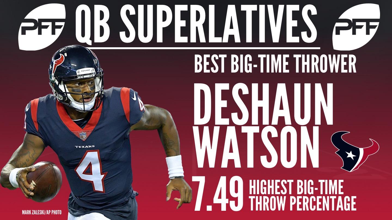 NFL QB Superlatives - Deshaun Watson
