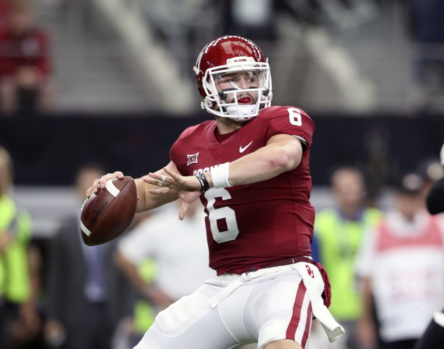 a2b23a41bcd Baker Mayfield s tape