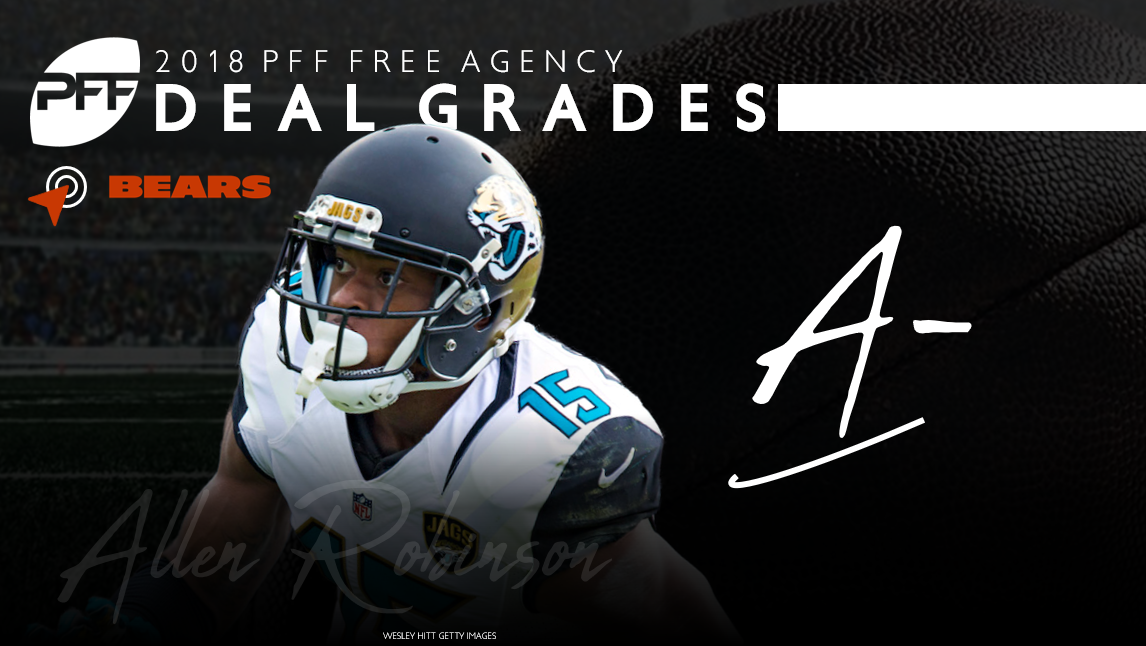 Allen Robinson signs with the Chicago Bears