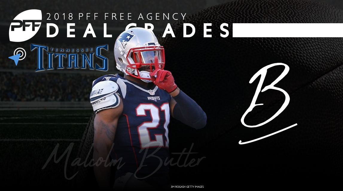 Malcolm Butler signs with the Titans