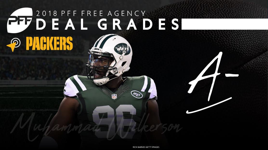 DI Muhammad Wilkerson Green Bay Packers