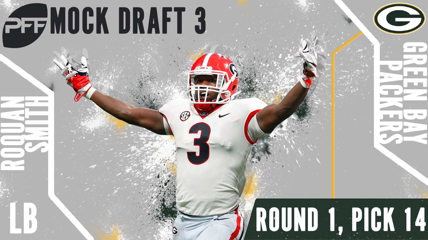 PFF Mock Draft 3 - Roquan Smith