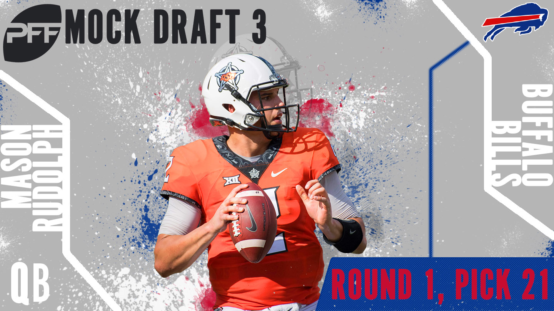 PFF Mock Draft 3 - Mason Rudolph