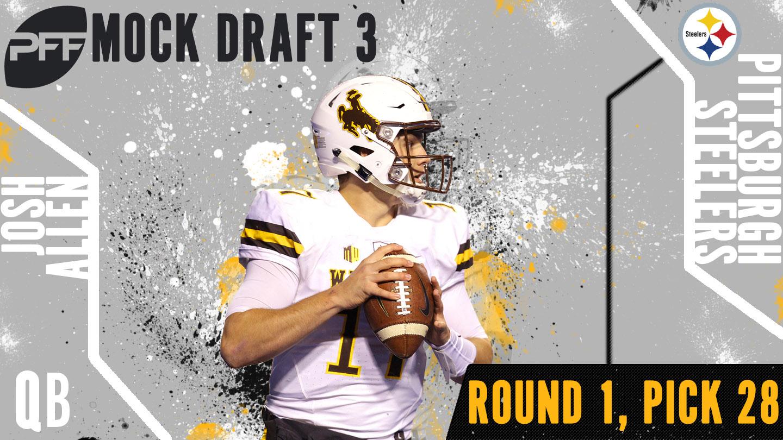 PFF Mock Draft 3 - Josh Allen
