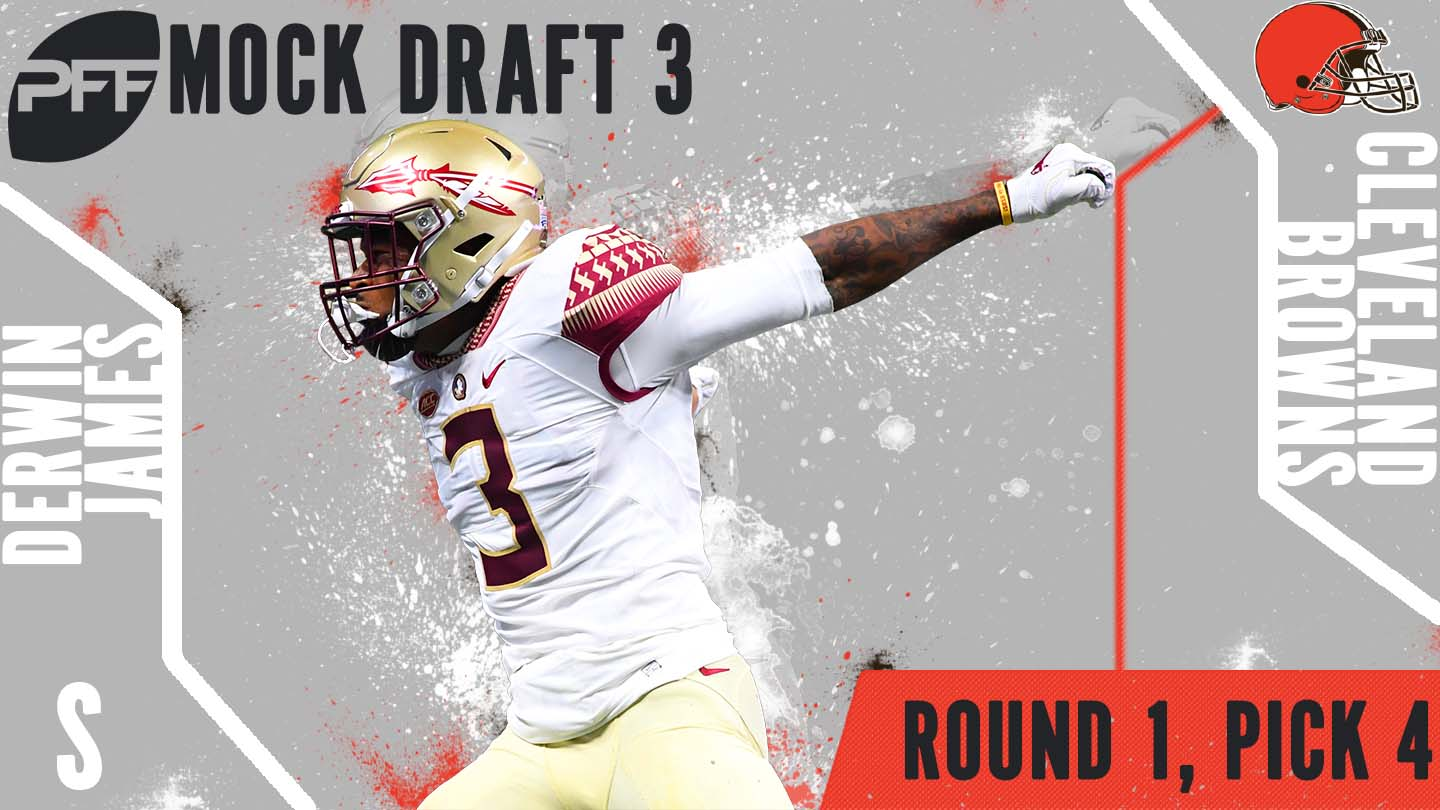 PFF Mock Draft 3 - Derwin James