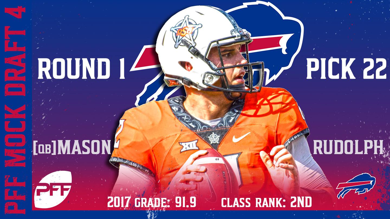 2018 PFF NFL Mock Draft 4 - No. 22 Mason Rudolph