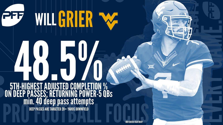 Will Grier, West Virginia
