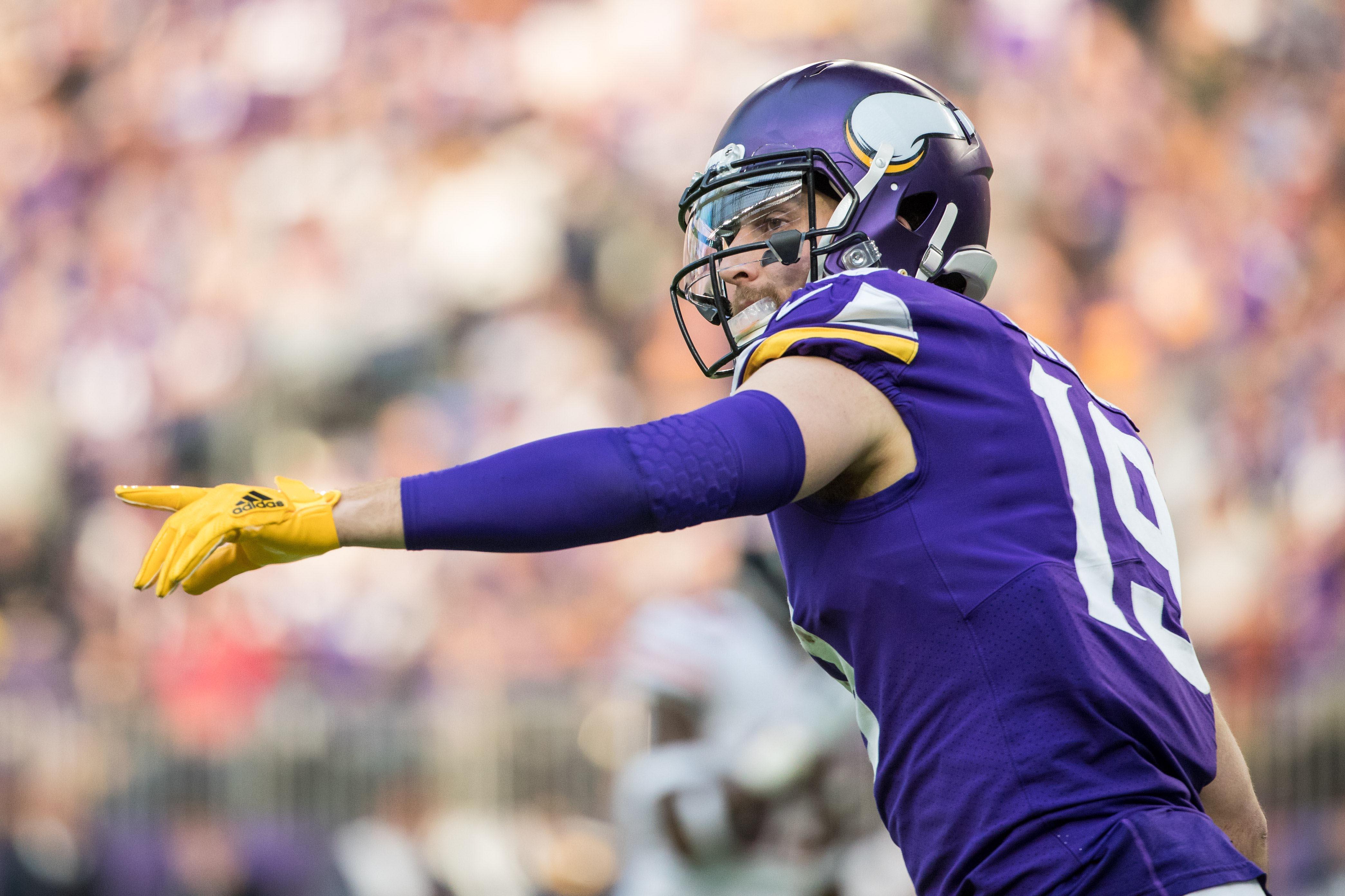 Adam Thielen, Minnesota Vikings, receiving