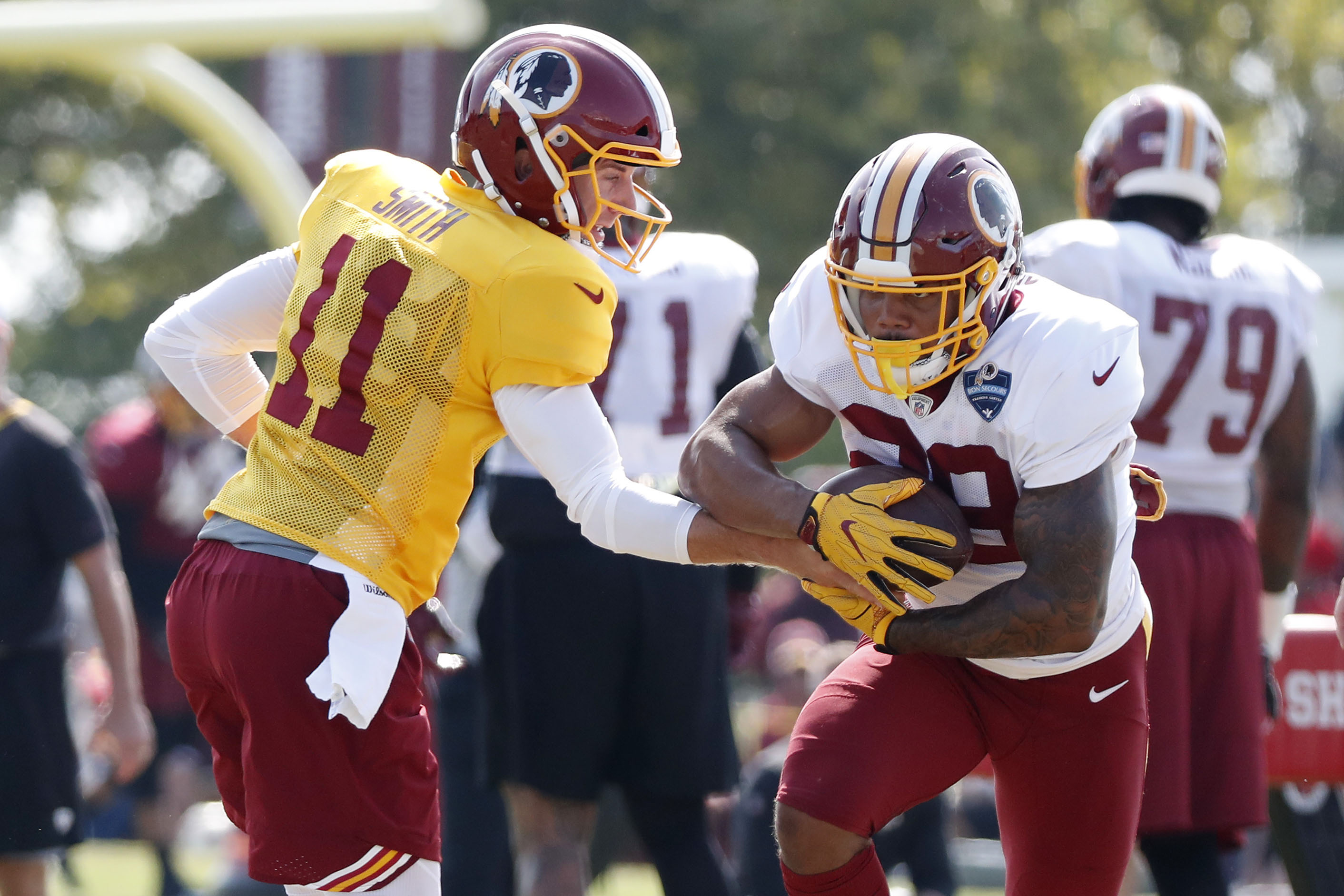 Redskins Rookie Derrius Guice Out For Season With Torn ACL