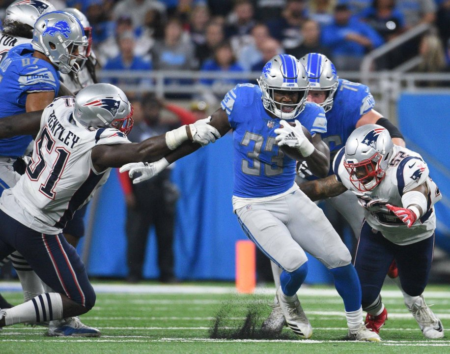 The emergence of RB Kerryon Johnson  3191fc1e4