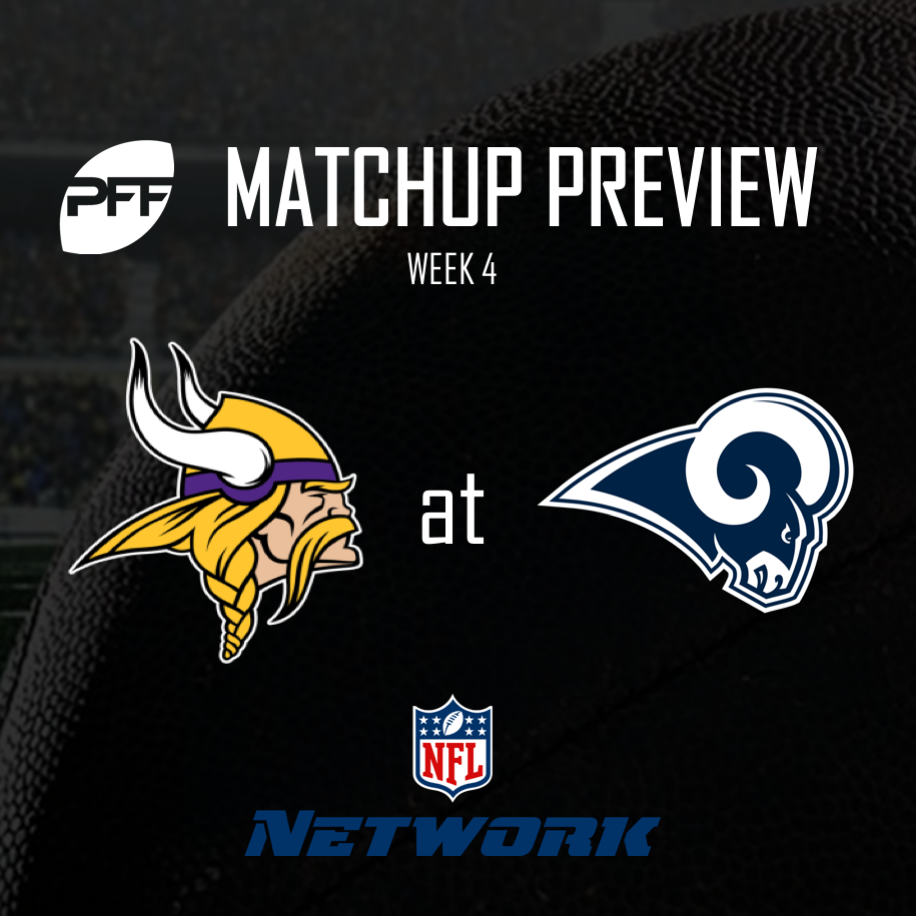 TV Ratings For Thursday Night's Rams-Vikings Game Are Out