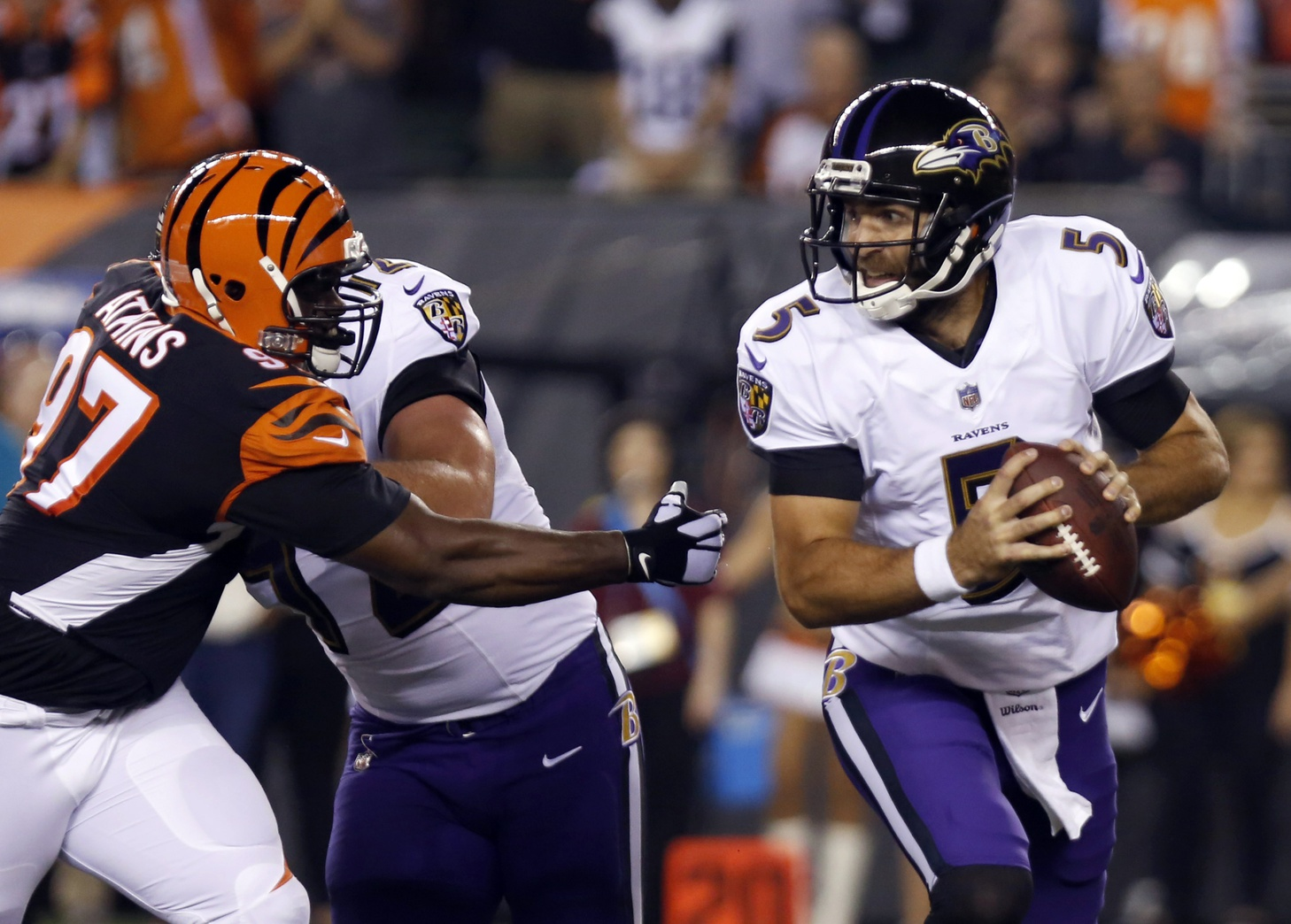 Early offensive surge carries Bengals past Ravens