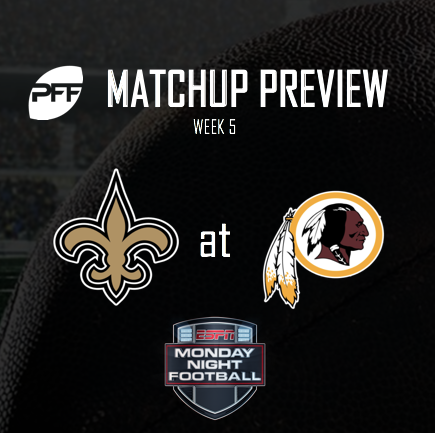 Washington Redskins @ New Orleans Saints