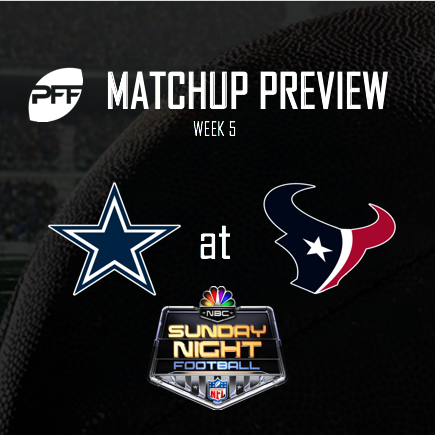 Houston Texans vs. Dallas Cowboys