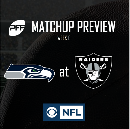 Raiders fall to Seattle in London; Carr injured