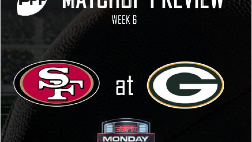 Nfl Week 6 Espn San Francisco 49ers Green Bay Packers Preview Nfl News Rankings And Statistics Pff